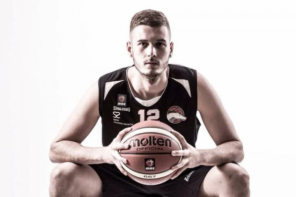 Harrison Gamble (now a pro playing for Leicester Riders, BBL Champions)