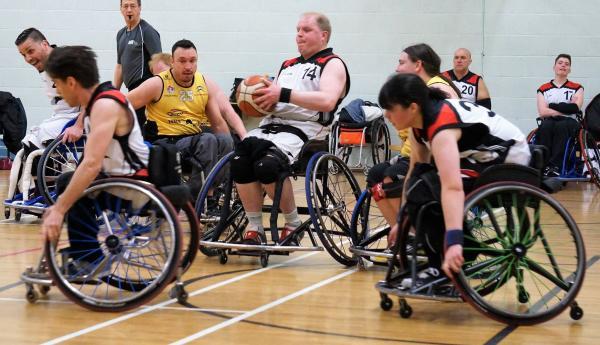 Wheelchair mayhem - join us now!