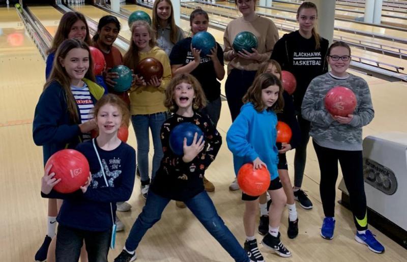 Blackhawks Girls Enjoy Team Social Over Christmas Break